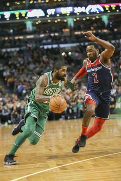 12/25/17 - Kyrie Irvin and John Wall