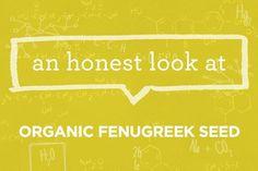 What is Organic Fenugreek Seed? | via The Honest Company Blog
