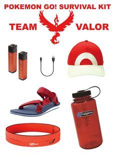 Creating JOY with LaurEvansDesign: Pokemon Go Team Valor Survival Kit