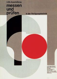 Herbert W. Kapitzki — LGA, exhibition poster (1962)