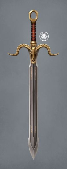 Mountaineer's Blade by Yaegerwerks on DeviantArt Fantasy Sword, Fantasy Armor, Fantasy Weapons, Medieval Fantasy, Arte Ninja, Iphone Background Images, Sword Design, Anime Weapons, Weapon Concept Art