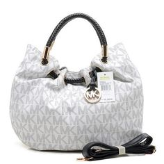 Welcome To Our Michael Kors Marina Logo Large Vanilla Drawstring Bags Online Store