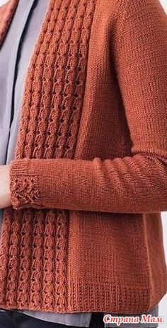 Diy Crafts - Knitting cardigan diy yarns 48 Ideas for 2019 Baby Knitting Patterns, Knitting Designs, Knitting Stitches, Knitting Needles, Hand Knitting, Knitting Machine, Knitting Sweaters, Knitting Ideas, Crochet Patterns
