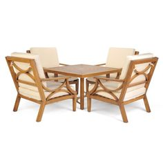 Have to have it. Caluco Torino Outdoor Chat Set