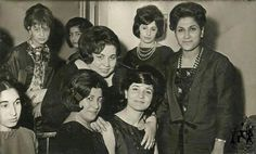 Teachers of high school in old days