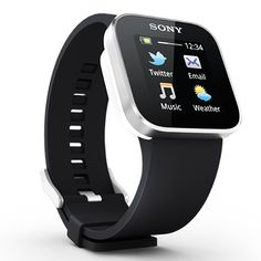 Sony SmartWatch - http://www.sonymobile.com/gb/products/accessories/smartwatch/specifications/