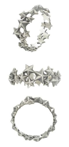 Zoe & Morgan Milky Way ring in sterling silver. Zoe & Morgan Milky Way ring in sterling silver. At Stone and Strand.