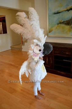 Cool Nigel Parrot Costume from the Movie Rio . Cool Nigel Parrot Costume from the Movie Rio … Coolest Halloween Costume Contest Costume Halloween, Kid Costume, Parrot Costume, Diy Halloween Costumes For Kids, Up Costumes, Creative Costumes, Halloween 2018, Holidays Halloween, Cosplay Costumes