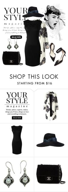 """""""Untitled #218"""" by jovana-p-com ❤ liked on Polyvore featuring Pussycat, Eugenia Kim, 3.1 Phillip Lim, NOVICA and Chanel"""