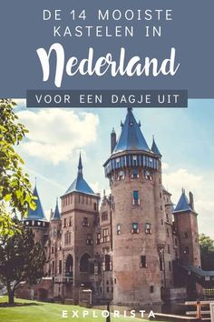 Day Trip, Netherlands, Beautiful Places, Places To Visit, Castle, Hiking, Europe, Vacation, World