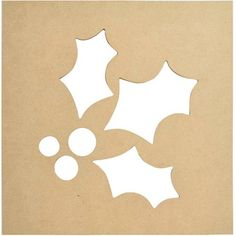 Beyond The Page, Holly Silhouette Wall Art, Beige