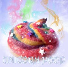 Unicorn poop sugar cookies... Um are you serious? If they just said rainbox sugar cookies I might've thought it was cool...
