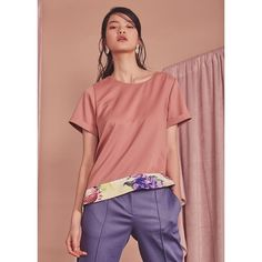 VLEEDA 16SS LOOKBOOK Pink peach yellow lavender purple 등 러블리한 컬러들의 새로운 조합 . .  Top [peach ribbon blouse] Bottom [lavender peplum pants] . . . www.VLEEDA.com .  #textile #art #fashion #design #artwork #pattern #style #outfit #model #silky #daily #painting #illustration #flower #3dprinting #sculpture #lookbook #designer #ootd #brand #패턴 #텍스타일 #디자인 #디자이너 #룩북 #VLEEDA #블리다 #16ss by vleeda
