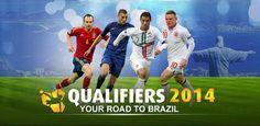 Acompaña a la selección española de fútbol hacia el próximo mundial con Qualifiers 2014