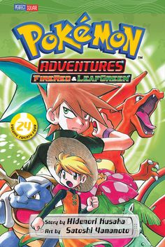 Pokemon Adventures, Vol. 24 by Hidenori Kusaka; Stoshi
