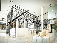 Alexander Wang flagship store by Kramer Design Group, New York Soho