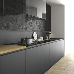 Schitterende matte Fenix keukenbladen in diverse kleuren. Combineren met Fenix of massief houten keukenfronten zoals licht essen, eikenhout, exclusief noten, teak of iroko.