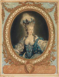 Marie-Antoinette, 1777 by JEAN-FRANÇOIS JANINET