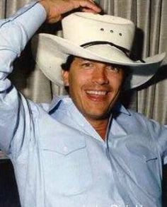 George Strait and His Mother | George at home on his south Texas ranch several years ago riding one ...