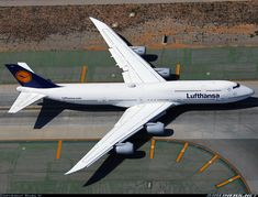 Lufthansa Boeing 747-830 at LAX Excellent picture of this beautiful new addition to the Lufthansa Fleet by photographer Mark H