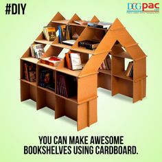 Packaging Innovation: Cardboard Bookshelf There are many creative ways to use…