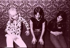 "las reinas del rock! "" Debbie Harry, Suzi Quatro and Joan jett """