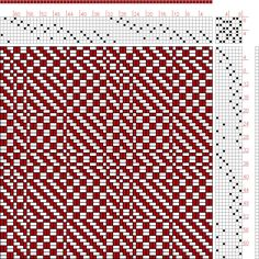 Hand Weaving Draft: Page 182, Figure 3, Orimono soshiki hen [Textile System], Yoshida, Kiju, 8S, 8T - Handweaving.net Hand Weaving and Draft...