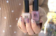 Tonos Sandstorm y Rose Smoke>> http://www.mia-laurens.com/blog/manicura-de-otono-rosa-ahumado-y-beige/ #NailArt #MIAIs5Free #NailPolishes #Manicure #MIALaurensParis