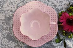 Pink Shelley tea cup