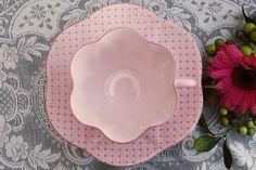 Pink Shelley tea cup