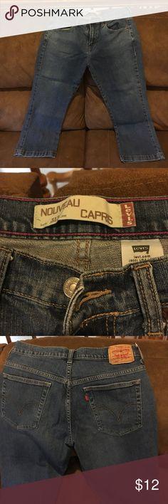 Levi jean capris Levis Levi's Jeans Ankle & Cropped