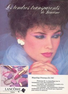 Lancome 80s - my favorite lipstick shade was called Truly. A romantic mauve...