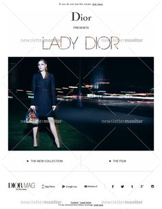 New Lady Dior – Electric City
