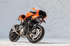 The incredible Ducati TT3 Difazio prototype. Hub center steering, anyone?