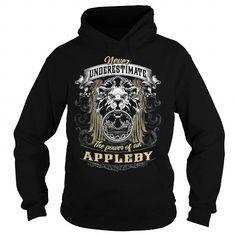 I Love APPLEBY APPLEBYBIRTHDAY APPLEBYYEAR APPLEBYHOODIE APPLEBYNAME APPLEBYHOODIES  TSHIRT FOR YOU T-Shirts