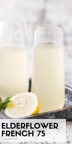 Bubbles make every occasion special, but this Elderflower French 75 takes cocktails to a whole new level! Such an easy brunch cocktail!