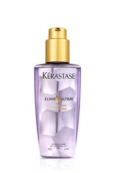 Hair oil in the sexiest bottle ever Kerastase Elixir Ultime With Millenium Rose Extract via Best Oil For Skin, Oils For Skin, Kerastase Elixir Ultime, Soften Hair, Coming Up Roses, Best Oils, Rose Oil, Hair Oil, Fine Hair