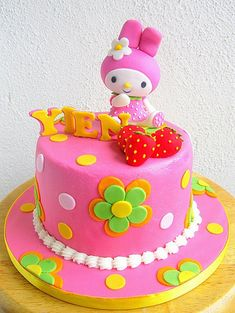 Yien's My Melody cake