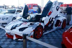 Groovy Lamborghini Aventador #camo