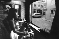 Brothel Women, Juni, Rotterdam, Photo Art, Portal, History, Night, Photograph, Memories