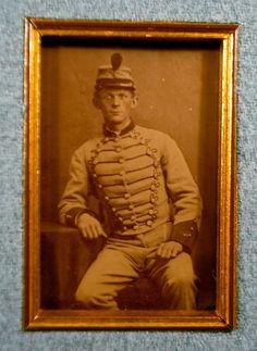 confederate Louisiana Pelican CDV Button 1860's War Presentation