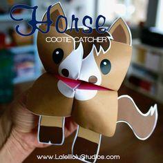 Diy Halloween Decorations, Halloween Crafts, Christmas Crafts, Horse Crafts, Animal Crafts, Creative Play, Creative Crafts, Paper Animals, Church Activities