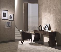 Cartesio toilette in Sycomoro dark frisè TS09 Club little armchair PO68 #interiordesign #furniture #madeinitaly #luxury Luxurious Bedrooms, Relax, Journey, Club, Living Room, Interior Design, Luxury, Dark, Furniture