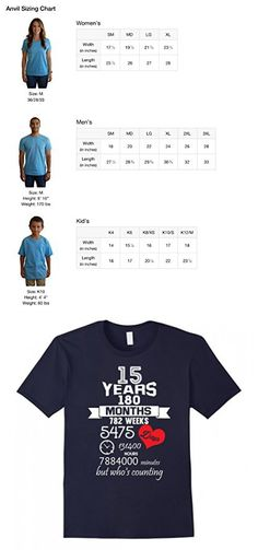 Men's Anniversary Gift 15th - 15 years Wedding Marriage ideas Large Navy