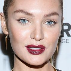 Картинки по запросу burgundy lipstick makeup