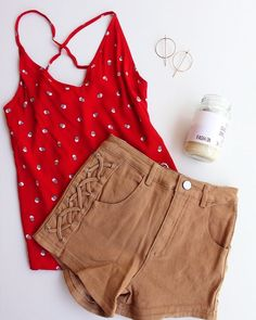 Add some colour to your life!   CAMPARI cami  RAZOR denim shorts All orders sent express AUS wide #fashionbackroom . . . . . . #style #fashion #onlineshopping #fashionblogger #ootd #expressdelivery #sydneyfashionblogger #melbournefashionblogger #modellife #luxe #outfitgoals