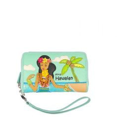 Portafoglio Braccialini Cartoline Hawaiian #portafogli #wallets #braccialini #cartoline