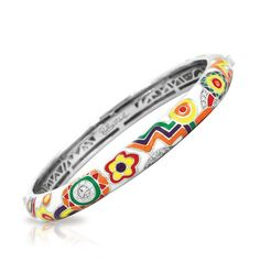 Constellations: Fiesta Multicolor Bangle By Belle Etoile. Fashion Jewelry. Bold Colors. Bold Fashion.
