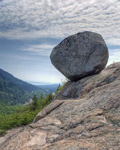 Bubble Rock, Acadia National Park, Maine