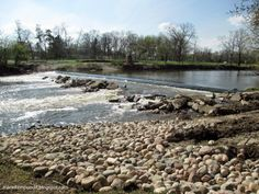 The removal of Dam Number 2 on the Des Plaines River